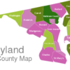 Map Maryland County Map Baltimore_County