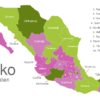 Map Mexico States Campeche