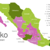 Map Mexico States Chiapas