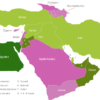 Map Middle East Countries Agypten