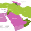 Map Middle East Countries Armenien