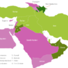 Map Middle East Countries Aserbaidschan