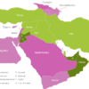 Map Middle East Countries Bahrain
