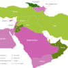 Map Middle East Countries Georgien