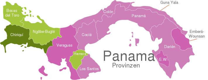 Panama Provinces