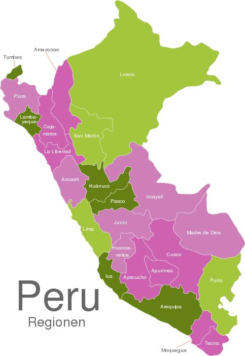 Peru Regions