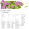 Map Puerto Rico Municipalities Adjuntas