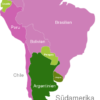 Map South America Countries Argentinien