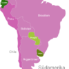 Map South America Countries Ecuador
