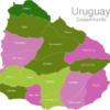Map Uruguay Departments Artigas