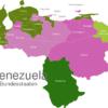 Map Venezuela States Amazonas