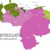 Map Venezuela States Aragua