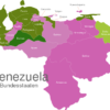 Map Venezuela States Barinas