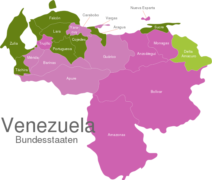 Venezuela States