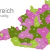 Map Austria Post Codes Digit PLZ-10_1_