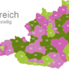 Map Austria Post Codes Digit PLZ-13_1_