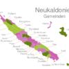 Map Caledonia Municipalities Belep-Inseln