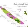 Map Caledonia Municipalities Bouloupari