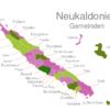 Map Caledonia Municipalities Bourail