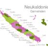 Map Caledonia Municipalities Canala