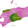 Map East Timor Timor Leste Districts Ainaro