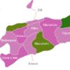 Map East Timor Timor Leste Districts Baucau
