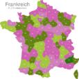 Map France Post Codes Digit PLZ-04_Alpes_de_Haute-Provence