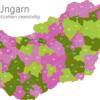 Map Hungary Post Codes Digit Postleitzahlenbereich-10-HU_1_