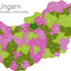 Map Hungary Post Codes Digit Postleitzahlenbereich-21-HU_1_
