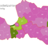 Map Latvia Post Codes Digit PLZ-20-LV_1_