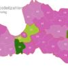 Map Latvia Post Codes Digit PLZ-30-LV_1_