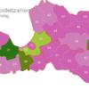 Map Latvia Post Codes Digit PLZ-31-LV_1_