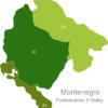 Map Montenegro Post Codes Digit PLZ_Bereich_81