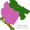 Map Montenegro Post Codes Digit PLZ_Bereich_84