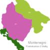 Map Montenegro Post Codes Digit PLZ_Bereich_85