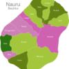 Map Nauru Districts Aiwo