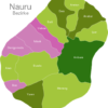 Map Nauru Districts Anibare
