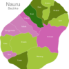 Map Nauru Districts Baiti