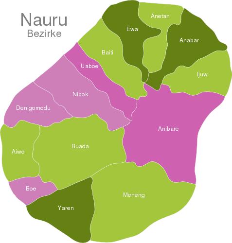 Nauru Districts