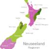 Map New Zealand Regions Gisborne