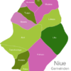 Map Niue Municipalities Liku