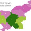 Map Slovenia Post Codes Postleitzahlenbereich-1-SL_1_