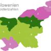Map Slovenia Post Codes Postleitzahlenbereich-4-SL_1_