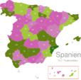 Map Spain Post Codes Digit PLZ_-_03_Alicante_1_