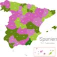 Map Spain Post Codes Digit PLZ_-_04_Almeria_1_